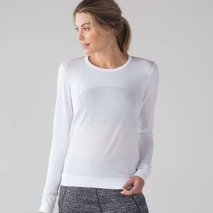 Lululemon | Breeze By Long Sleeve White